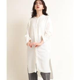 インドチュニックドレスシャツ (ホワイト)