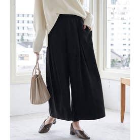 【WEB限定36サイズ】カサネタックスカーチョパンツ (ブラック(01))