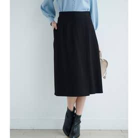 【セットアップ対応】フハクライクラップ風スカート (ブラック(01))