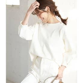 【Marisol ONLINE / 美女組Akaneさんコラボ】メタル釦トップス (ホワイト(10))