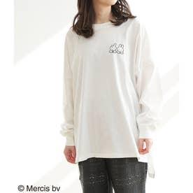 【WEB限定】【miffy×ROPE' PICNIC】ロングTシャツ (ホワイト系(13))