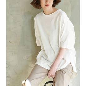 【ORGANIC COTTON】バックシャンTシャツ (オフホワイト(15))