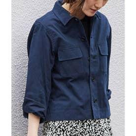 カジュアルシャツジャケット (ネイビー(40))