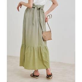 【マルチWAY】グラデーションスカート (ライトグレー(08))