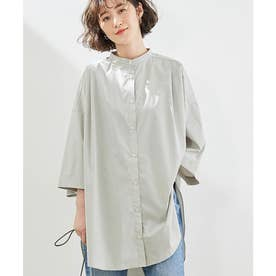 【マシンウォッシャブル】エステルワークシャツ (カーキ系(38))