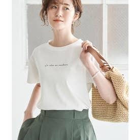 コンパクトTシャツ (ホワイト(10))