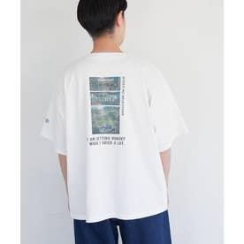 【漁港の肉子ちゃん× ROP- PICNIC】コラボTシャツ (ホワイト(10))