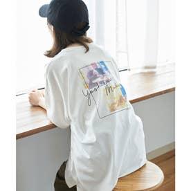 【ガンバレルーヤ×ROPE' PICNIC】Photo Tシャツ (ホワイト(10))