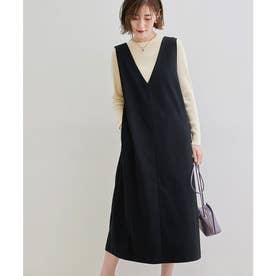【2WAY】カルゼジャンパースカート (ブラック(01))