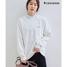 【CONVERSE/コンバース】裏毛トップス (オフホワイト(15))
