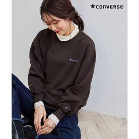 【CONVERSE/コンバース】裏毛トップス (ダークブラウン(20))