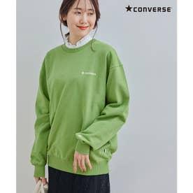 【CONVERSE/コンバース】裏毛トップス (グリーン系(35))