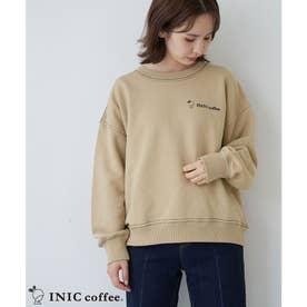 【INIC Coffee×ROPE' PICNIC】裏毛トップス (ベージュ(27))