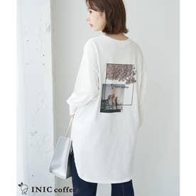 【INIC Coffee×ROPE' PICNIC】ロングTシャツ (オフホワイト(15))