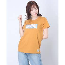 ROXY/ ルーズシルエット  ボタニカルロゴTシャツ  RST202026 (ベージュ)