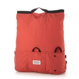 洗濯OK 折りたたみ リュック型 エコバッグ SN.マルクトート セオルー B 6776 (RED)