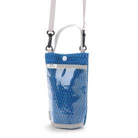 斜め掛け ボトルホルダー チケットホルダー スマホケース RO ボトッシュ メッシュ 0365 (BLUE)
