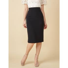 リップルタイトスカート (ブラック)