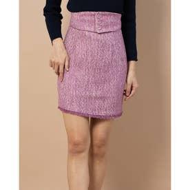 ミラツィードスカート (ピンク)