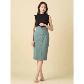 マルチボタンタイトスカート (グリーン)