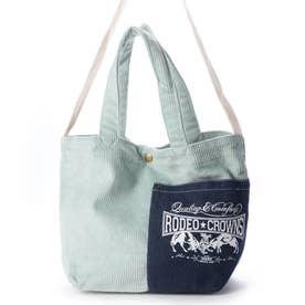 CORDUROY SHOLDER BAG C06-1-00042 (ミントグリーン)