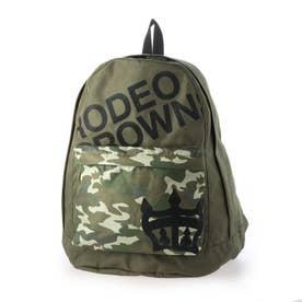 LOGO BACK PACK BACK PACK C06-1-00041 (カーキ)