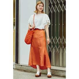 編みショルダーバッグ オレンジ
