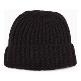 ニット帽 ブラック