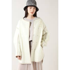 リバーシブルキルトジャケット ホワイト
