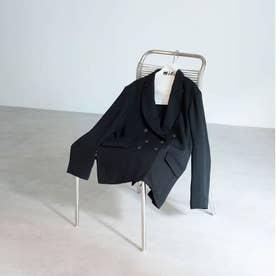 ダブルブレストジャケット ブラック