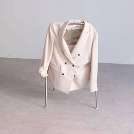 ダブルブレストジャケット ホワイト