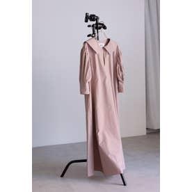 <WEB限定>セーラーカラーワンピース ピンク