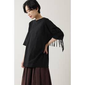 ウエスタンフリンジTシャツ ブラック