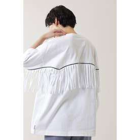 ウエスタンフリンジTシャツ ホワイト