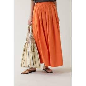 インドタックロングスカート オレンジ