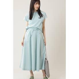 <WEB限定><THOUSAND MILE × GENE HEAVENS>トップス&スカートセット ブルー