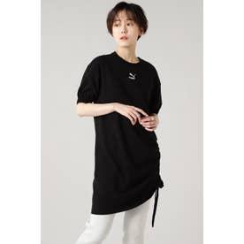 PBAE Tシャツ ドレス ウィメンズ ブラック
