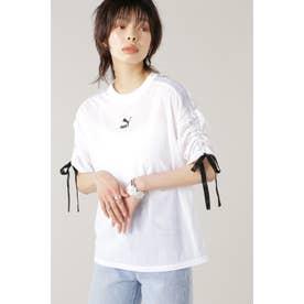 PBAE メッシュ Tシャツ ウィメンズ ホワイト