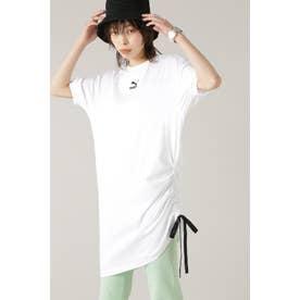 PBAE Tシャツ ドレス ウィメンズ ホワイト