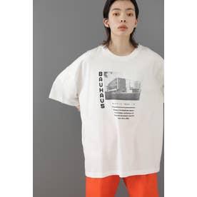 BAUHAUSアートプリントTシャツ ホワイト