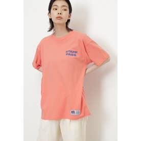 <RUSSELL ATHLETIC×CREOLME>スタッフパスTシャツ ピンク