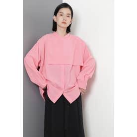 ガンフラップシャツ ピンク