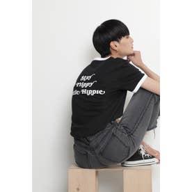 リンガーTシャツ ブラック
