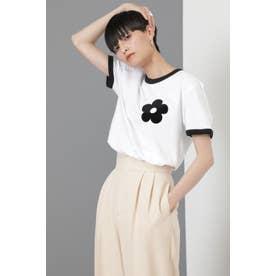 リンガーTシャツ ホワイト