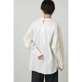 コンビネーションロングTシャツ ホワイト