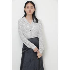 ドットシャツ ホワイト