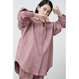 ジャカードビッグシャツ ピンク