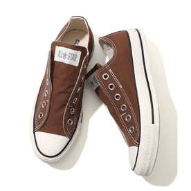 CONVERSE ALL STAR SLIP -V OX (ダークブラウン(20))