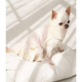 DOG キャミソールボーダーワンピース 【返品不可商品】 (ピンク(63))