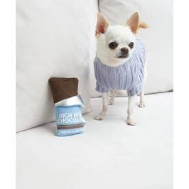 【DOG】リッチミルクチョコレートソフトトイ 【返品不可商品】 (ブルー系(45))